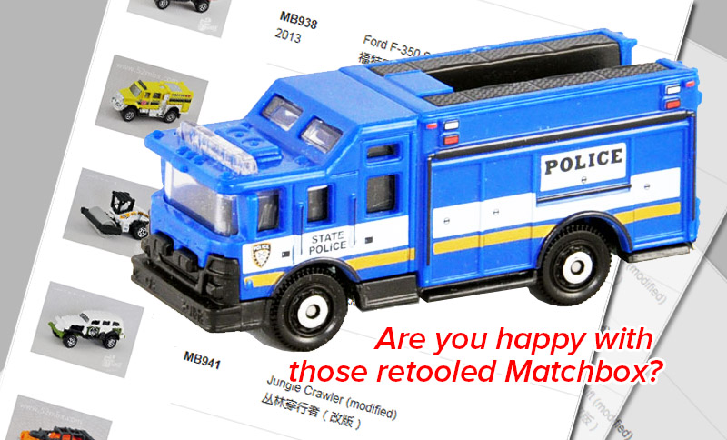 52mbx - are you happy with those retooled matchbox