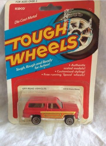 Tough Wheels Chevy Blazer 1981