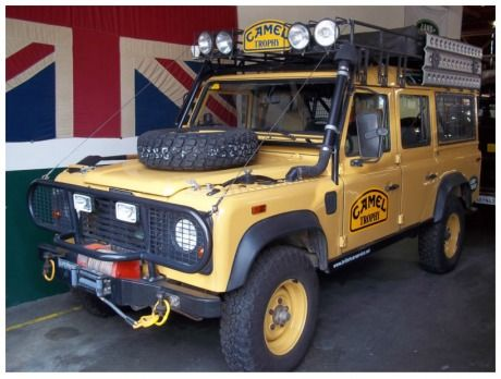 Land Rover Defender 110 - picture from Pinterest.com. Thank you!