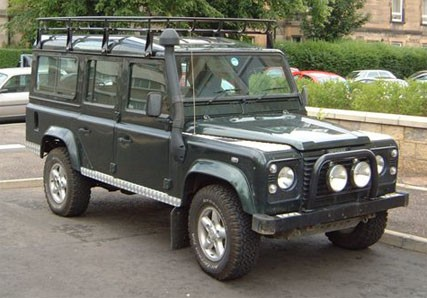 Land Rover Defender 110 TD5. Credit goes to www.only-carz.com. Thank you!